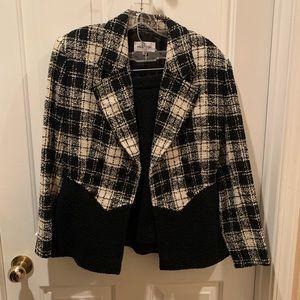 Valentino Miss V Checkered Suit & Skirt